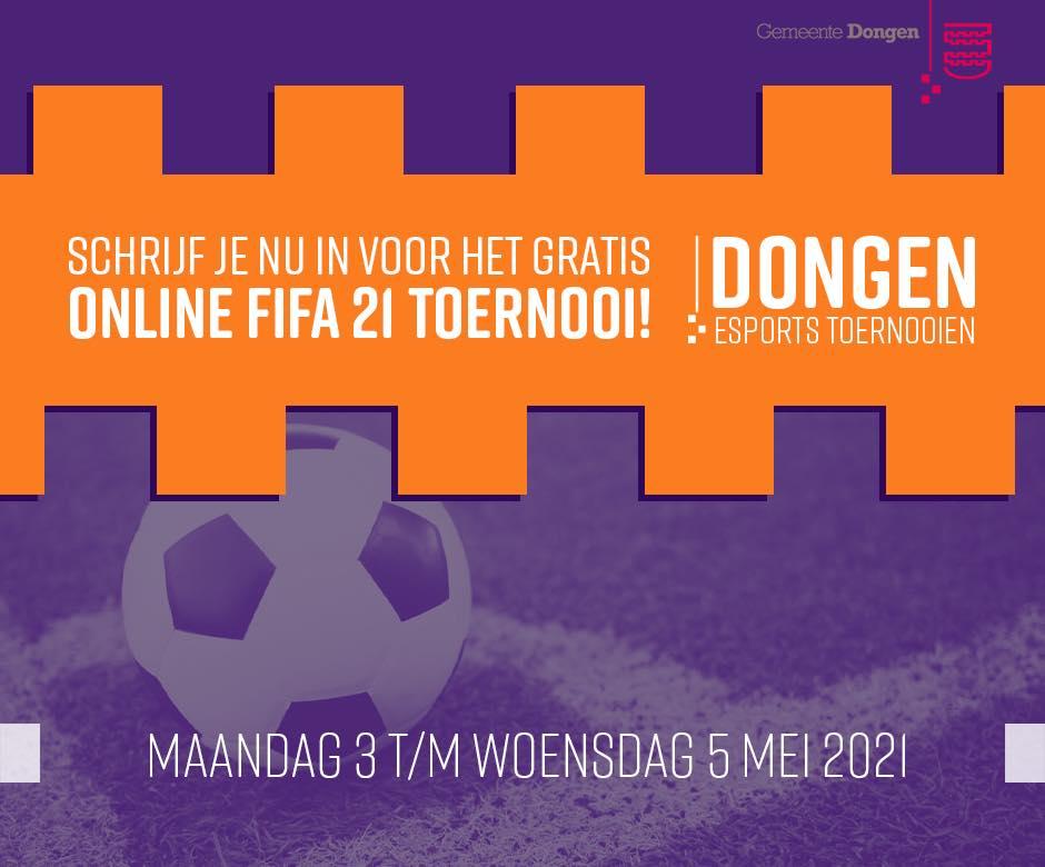 Tweede editie van het succesvolle Esportstoernooi FIFA21